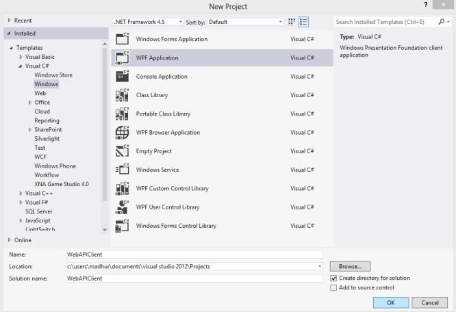 Calling ASP NET WebAPI using HttpClient - CodeProject